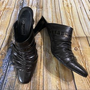 Brighton Womens Rubens Leather Heels Size 7